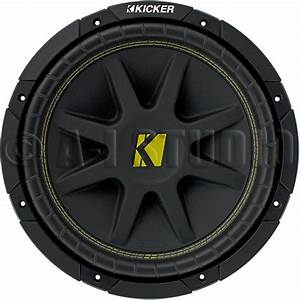 2 Kicker 10c104 Car Audio 10 Inch Compvr 4