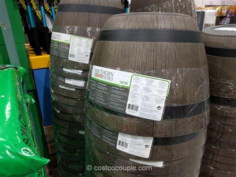 High Density Resin Whiskey Barrel Planter