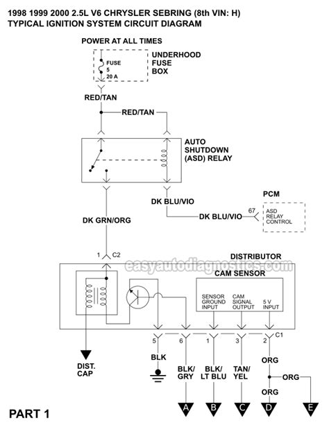 Part Ignition System Wiring Diagram