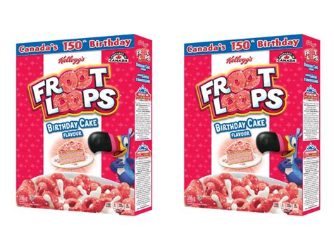 Kellogg's Unveils New Birthday Cake Flavored Froot Loops ...