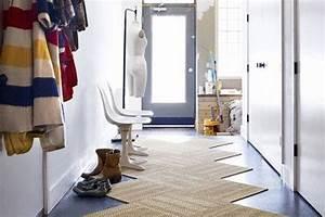 Amenager un couloir nos bons tuyaux blog quotma maison mon for Tapis couloir avec canapé au sol modulable