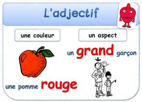 affichage l adjectif en fran 231 ais adjectives in french