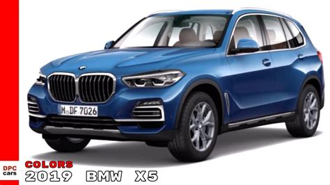 2019 Bmw Colors by 2019 Bmw X5 Colors
