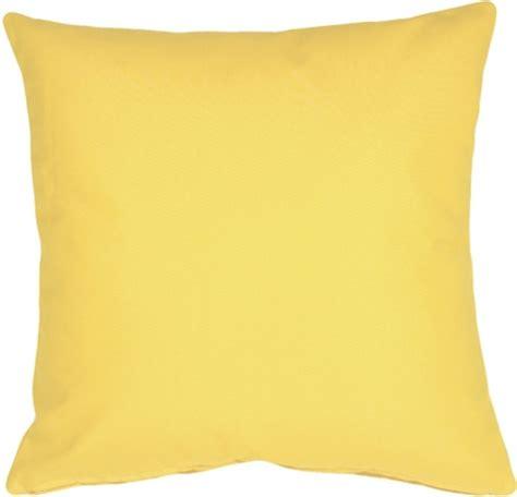 sunbrella buttercup yellow 20x20 outdoor pillow from pillow decor