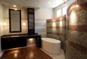 Image of: Luxury Remodels Master Bathroom Focu Home Artistic Master Bathroom Design Using Natural Stones