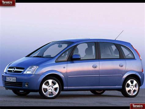 2003 Opel Meriva Photos Informations Articles