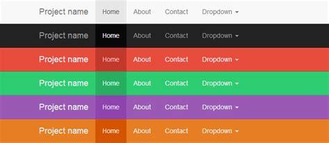 css change navbar color  twitter bootstrap stack overflow