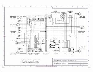 2002 Derbi Gpr 50cc Electrical System Wiring Diagram