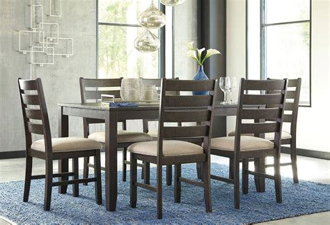 rokane 7 piece dining room set casual dining sets