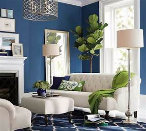 10, Reason, Why, Blue, Is, The, Best, Color, For, Decorating, Your, Living, Room