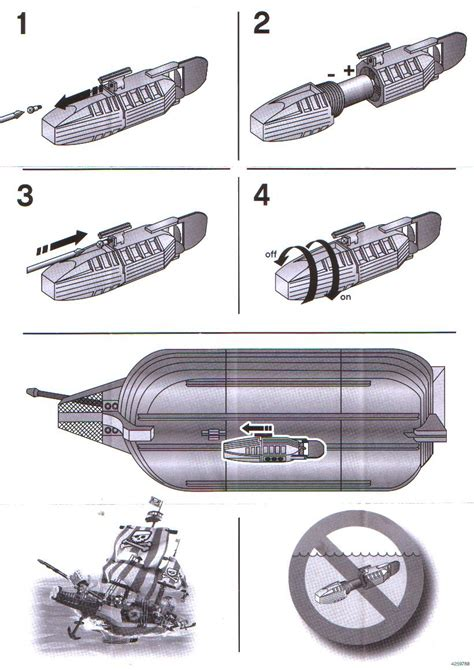 Lego Underwater Boat Motor by Instructions For 7099 1 Accessory Boat Motor Bricks
