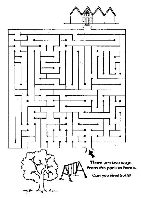 All Worksheets » Maze Worksheets  Printable Worksheets Guide For Children And Parents