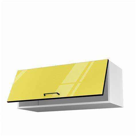 meuble haut cuisine leroy merlin meuble de cuisine haut jaune 1 porte pop h35xl90xp35 cm