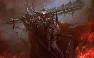 Wallpaper, Women, Fantasy, Art, Fantasy, Girl, Dark, Fantasy, Armor, Demon, Mythology, Screenshot