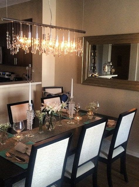 the chandelier dining rooms and strands on