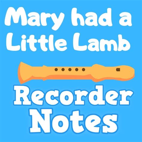 Mary had a little lamb is available as a pdf download in our bundle children's songs for recorder for only $3.99. 🥇 Mary Had a Little Lamb on Recorder 🥇【Easy to play】