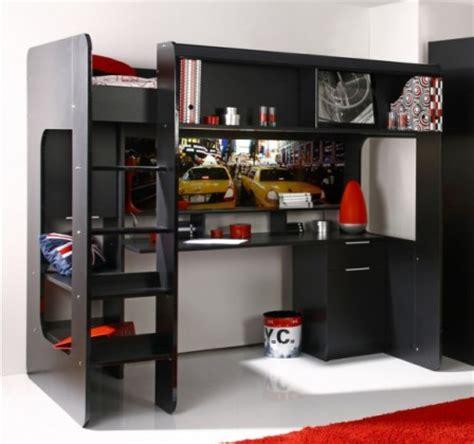 bureau ado avec rangement lit ado lit et mobilier chambre ado lit pour adolescent