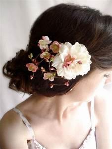 Wedding Hair Clip Ivory Flower Bridal Hair Accessories