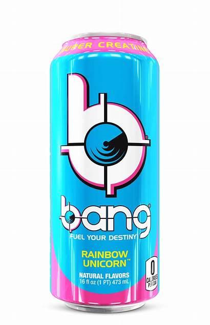 Bang Energy Oz Unicorn Rainbow Walmart Cans