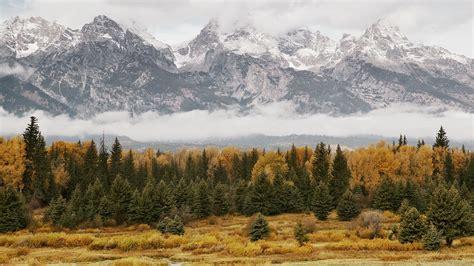 telecharger la meteo sur mon bureau gratuit fond ecran foret montagne automne mountain forest