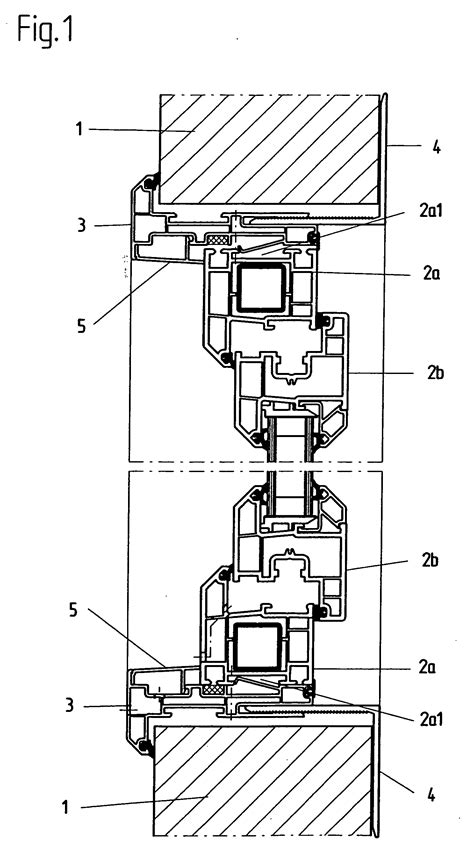 Patent EP1464787A1 - Container with window - Google Patents
