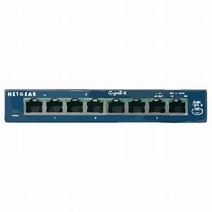 Netgear Port Gigabit Switch Clip Art at Clker.com - vector ...