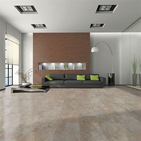 Elite Stone   8mm Tile Effect Laminate Flooring   Marble