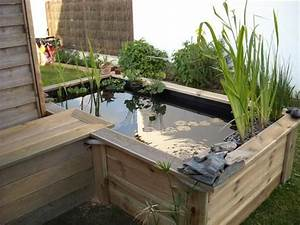 le forum de passion bassin bassin de jardin baignade With ordinary fontaine exterieure de jardin moderne 3 mon jardin aquatique