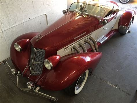 1936 Auburn Boat Tail Speedster For Sale Photos