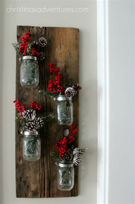 christmas mason jar decoration christinas adventures