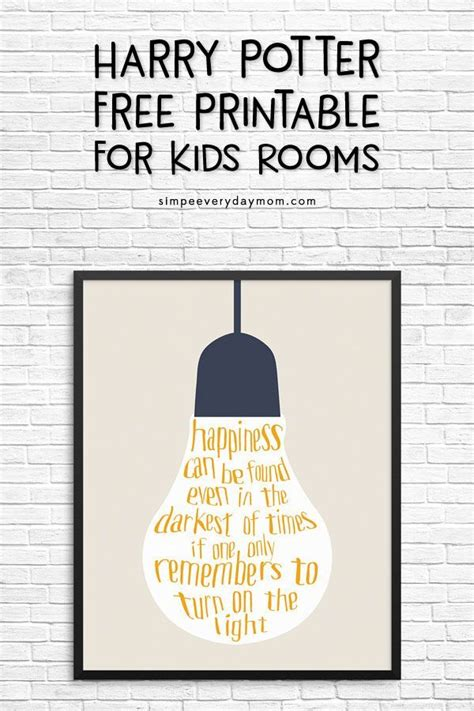 awesome  harry potter quote printable