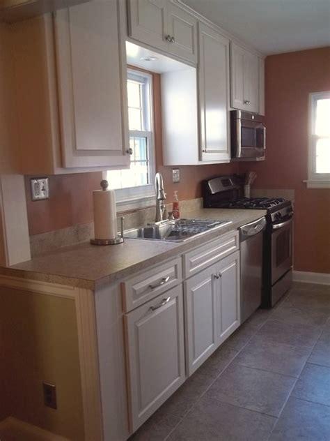 Custom Cottage Galley Kitchen