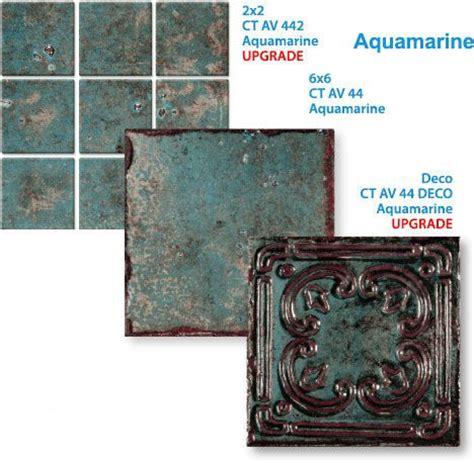 6x6 Decorative Pool Tile by 6x6 Pool Tile Avalun Aquamarine Pool Tile