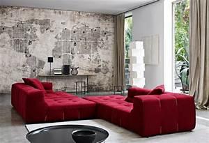 Tapeten Wohnzimmer Beispiele : 71 wohnzimmer tapeten ideen wie sie die wohnzimmerw nde beleben ~ Sanjose-hotels-ca.com Haus und Dekorationen