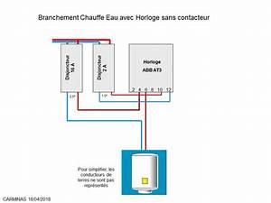 Cablage Chauffe Eau : branchement electrique chauffe eau simple cablage ~ Melissatoandfro.com Idées de Décoration