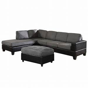 Us pride sierra microfiber sectional sofa with ottoman for Us pride sierra microfiber sectional sofa with ottoman