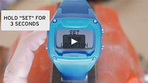 How To Set A Shark Classic Tide Watch On Vimeo