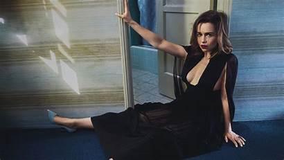 Emilia Clarke Wallpapers Vogue Wide Thrones Celebrities