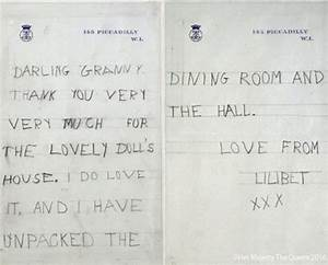 Read the very first letter the Queen wrote to her ...