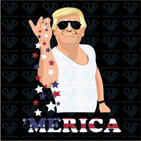 trump bae funny   july trump salt freedom svg files