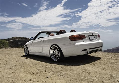 Bmw 335i Convertible by Alpine White Bmw 335i Convertible On Morr Wheels