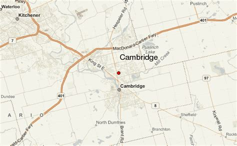 Weather Radar Kitchener by Cambridge Canada Location Guide
