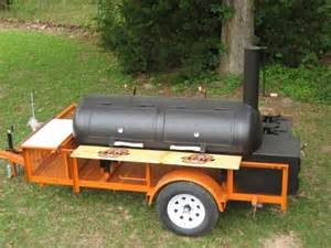 Custom BBQ Pit Trailers