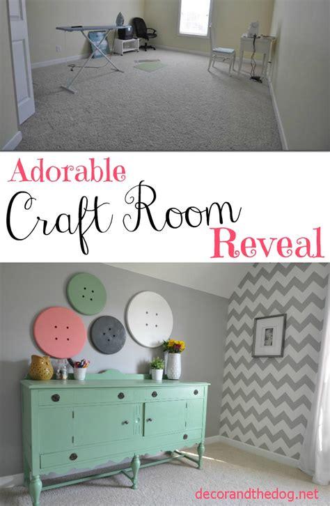 Craft Room Tour — Decor And The Dog