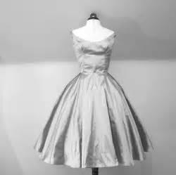 silver wedding dresses silver taffeta wedding dress or lwd tea length onewed