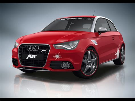 2010 Abt Audi A1 - Red Front Angle - 1920x1440 - Wallpaper