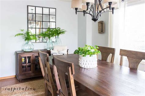 simple summer dining room decor inspiration for moms