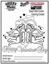 Coloring Corner Sheets Greer Pages Activities Contest sketch template