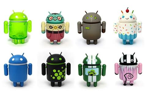 android figures android mini collectible figures