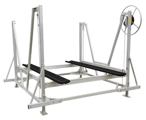 Boat Lift For Pontoon by Pontoon Boat Lifts Shallow Water Pontoon Lifts R J